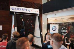 Zawody wspinaczkowe podczas SNOW EXPO